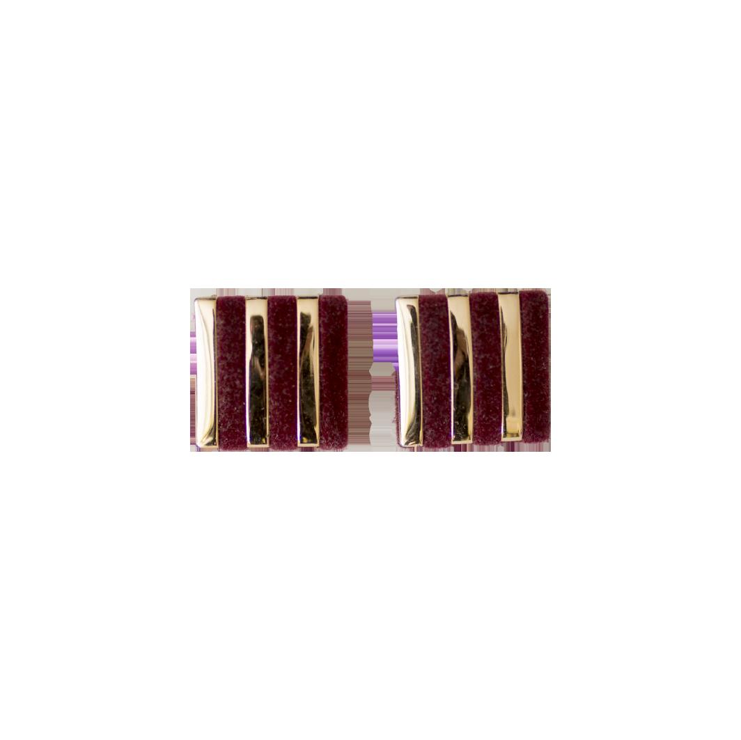 Vintage-samettikorvakorut