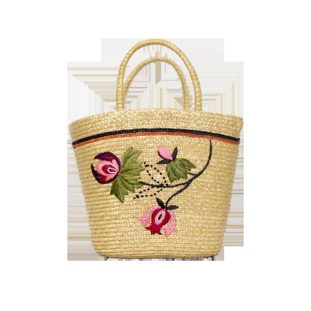 Vintage Juhlalaukku : Olkikassi kukkakirjailulla niin mua second hand vintage