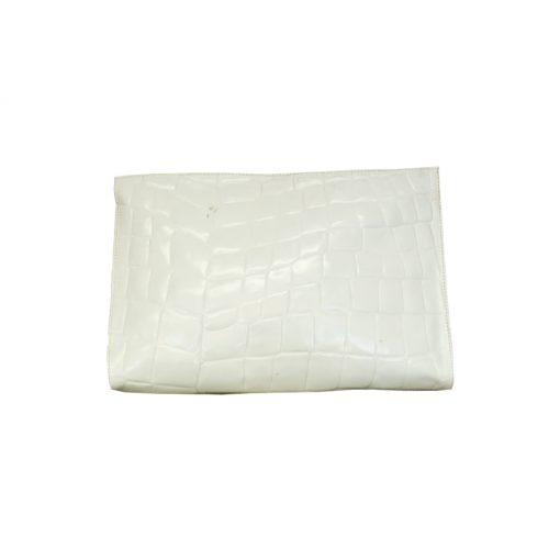 valkoinen clutch