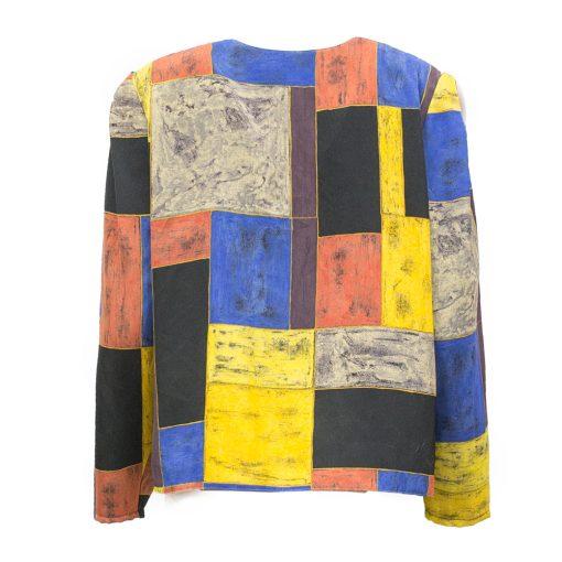 värikäs jakku