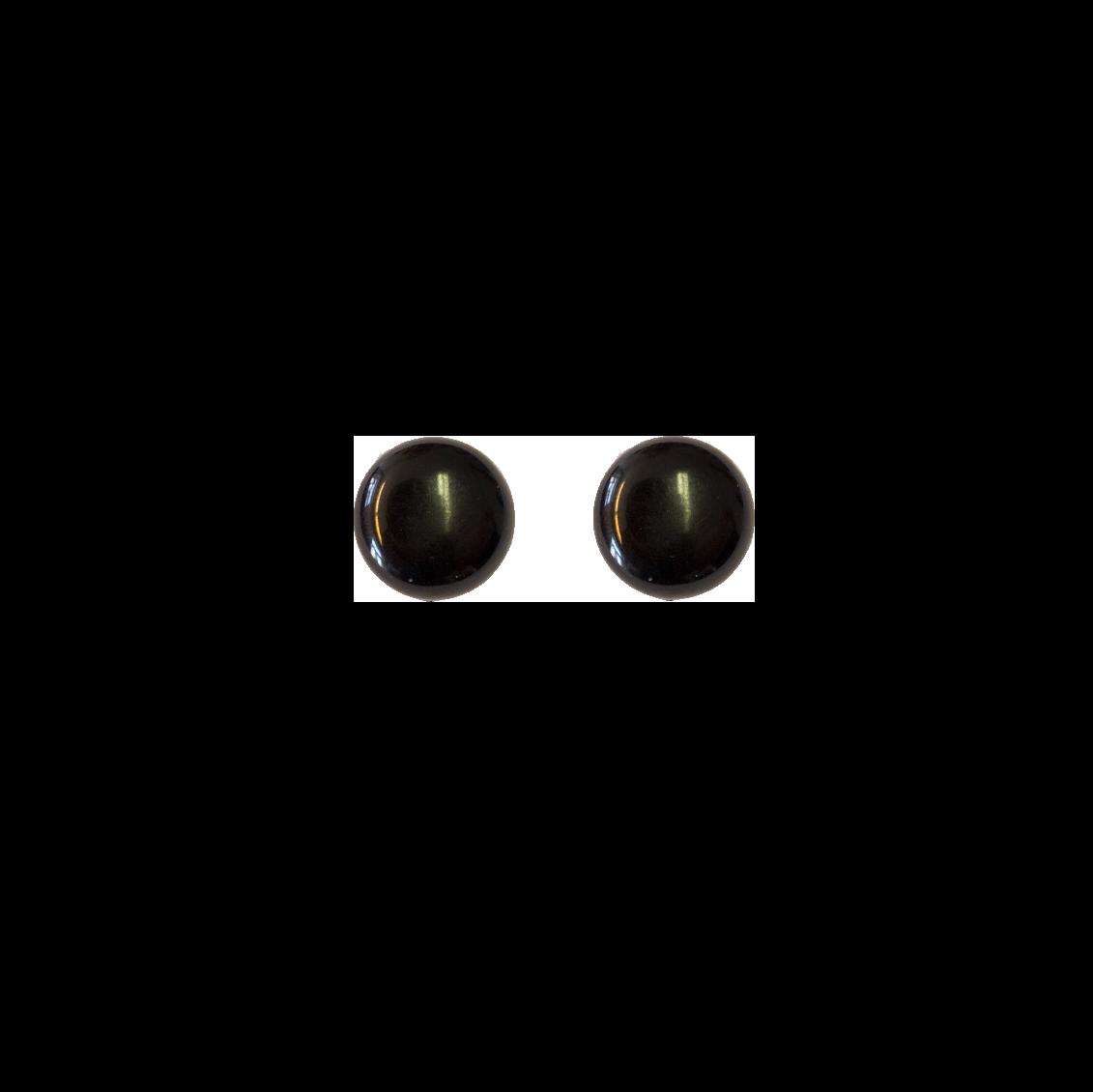 Mustat muovikorvakorut