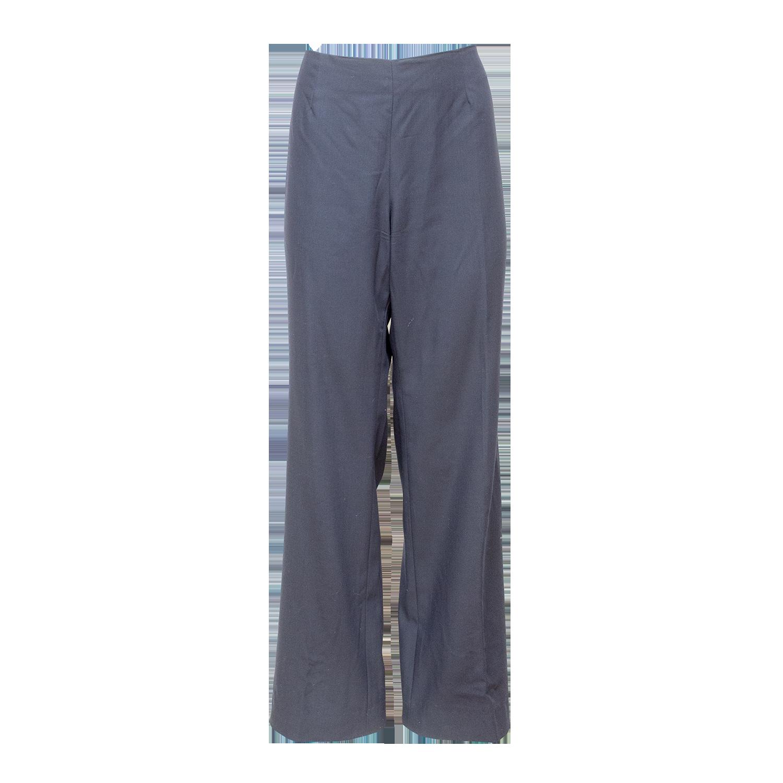 Siniset suorat housut