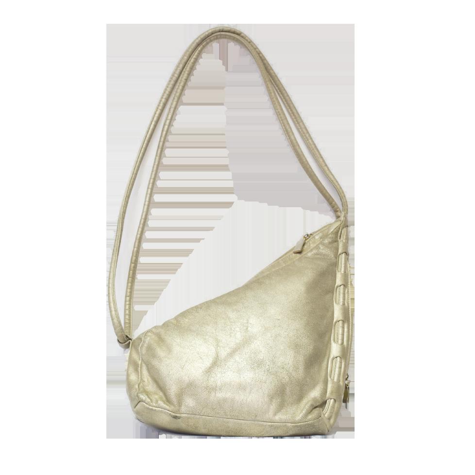 Kullanvärinen laukku