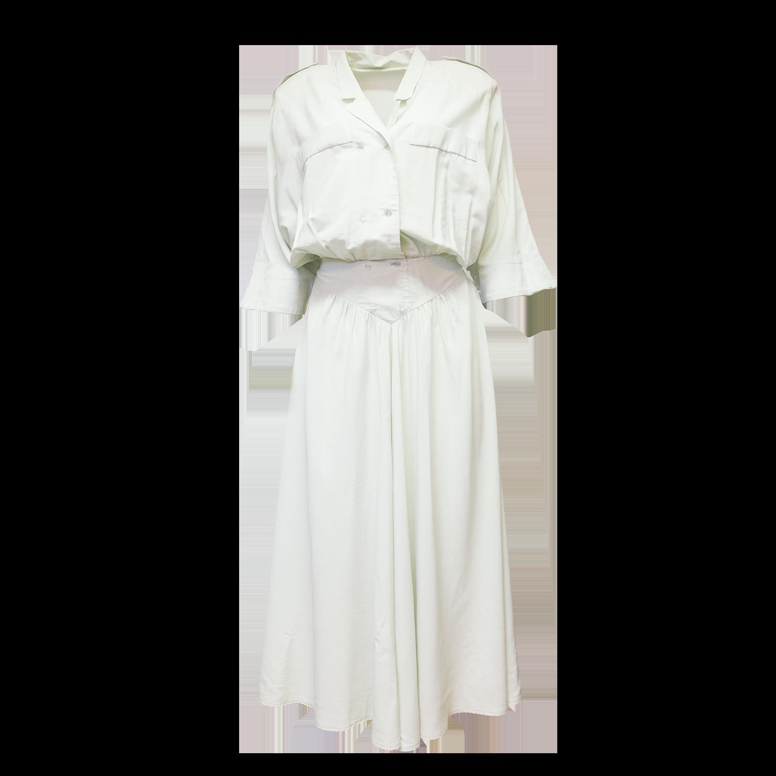 mintunvihreä mekko