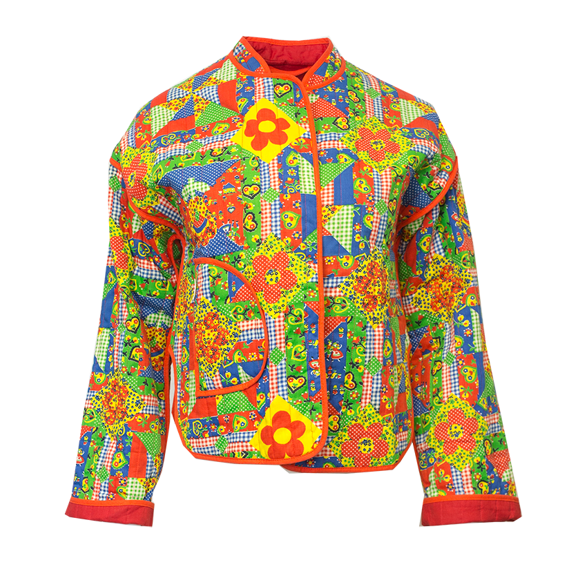 värikäs takki