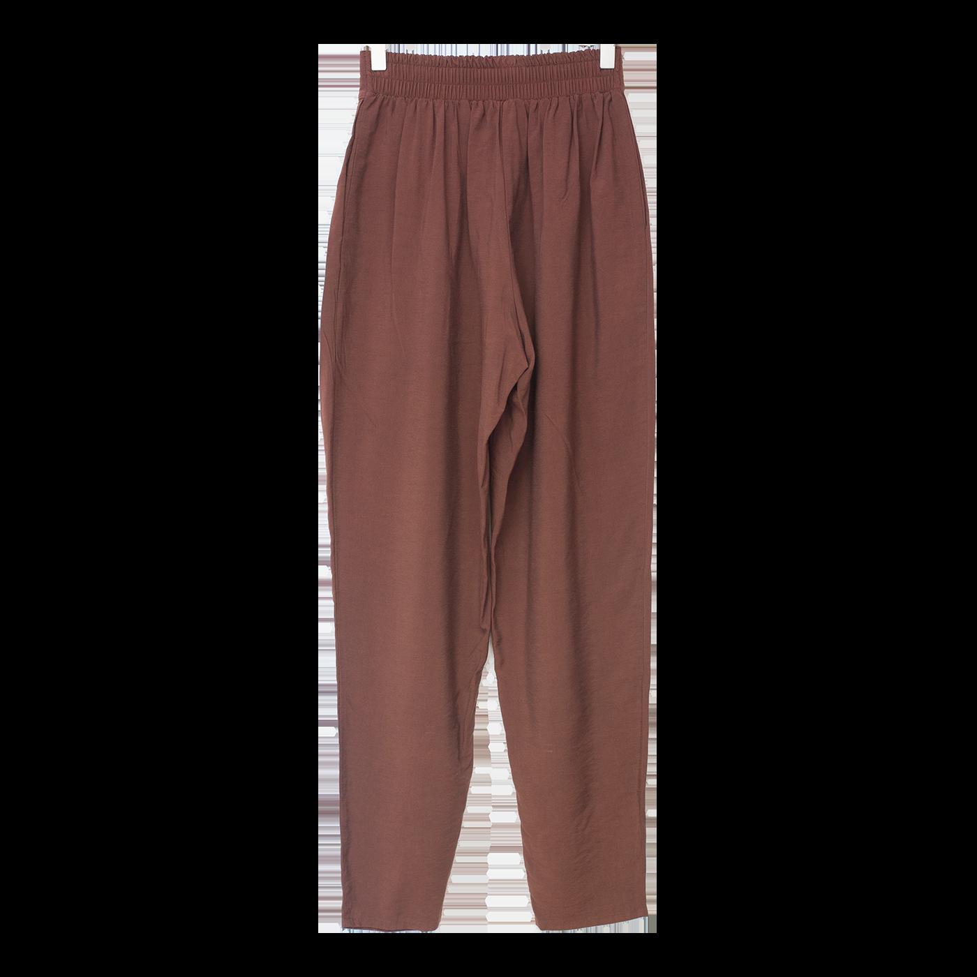 ruskeat housut