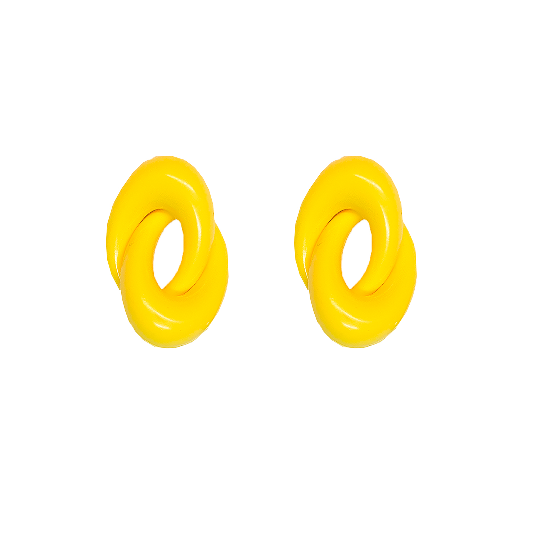 isot keltaiset korvakorut