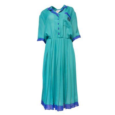 turkoosi mekko