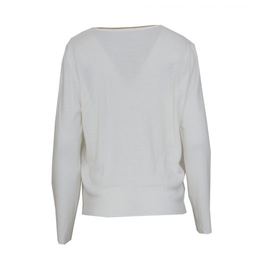 valkoinen neuletakki