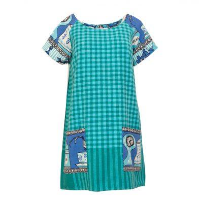 kierrätysmateriaali mekko