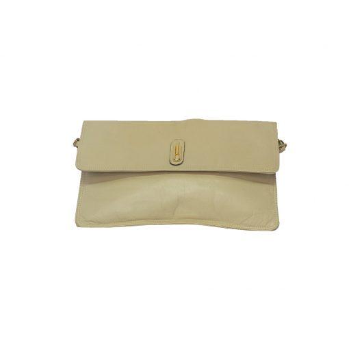 vaalea nahka laukku