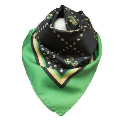 musta-vihreä huivi