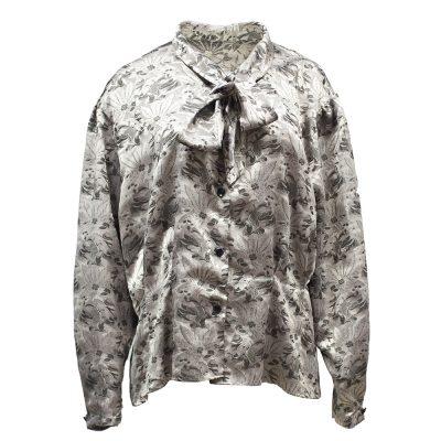 hopeinen pusero