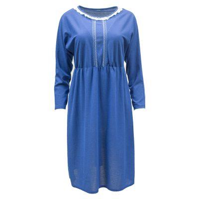 sininen mekko