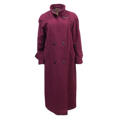 viininpunainen takki