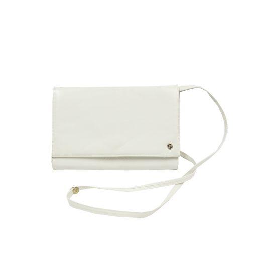 valkoinen kirjekuorilaukku