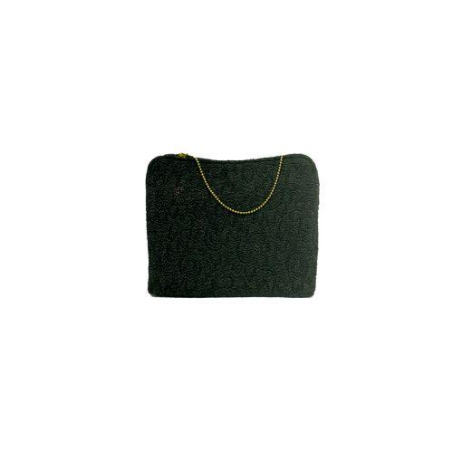 musta vintage-laukku