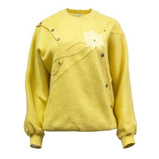 keltainen neule