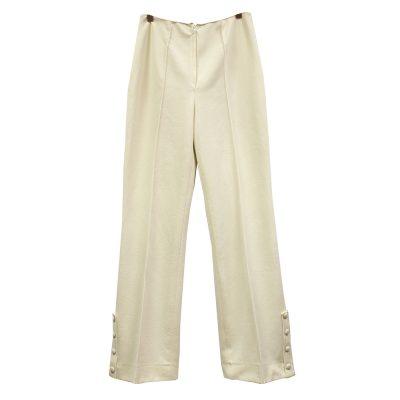 valkoiset housut