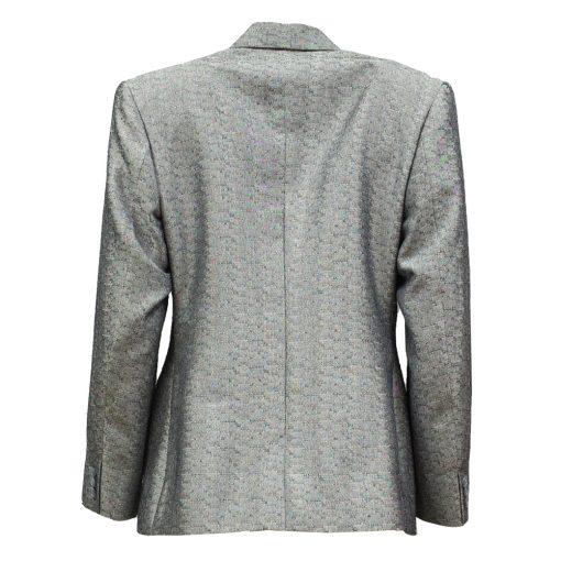 hopeanvärinen jakku
