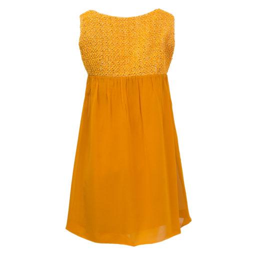 oranssi juhlamekko