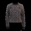 Piineule, kotimainen valko-musta neule - XS/S