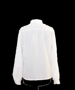 Valkoinen naisten kauluspaita - 42