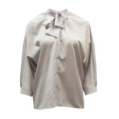 Naisten laventelinsävyinen vintage-paita - S