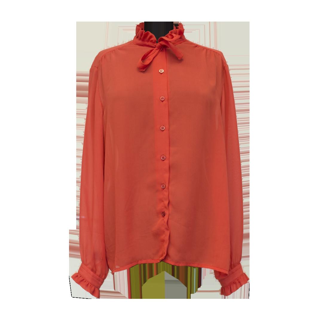 Punainen vintage-pusero - 44