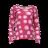 Marimekko, pinkki pallopaita - S