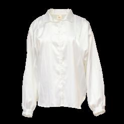 Eurofashion, valkoinen satiinipusero - 44