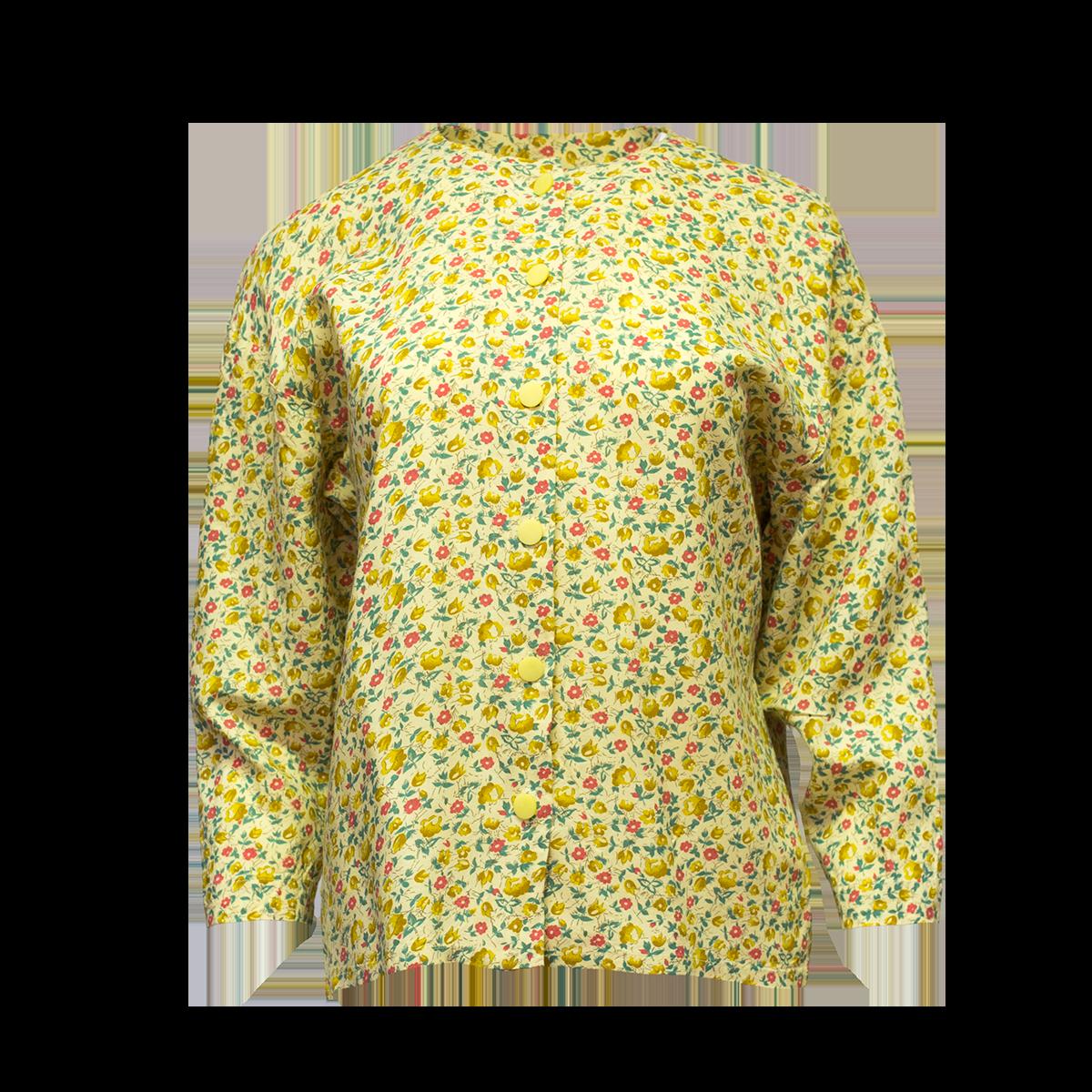 Keltainen kukkapaita - M