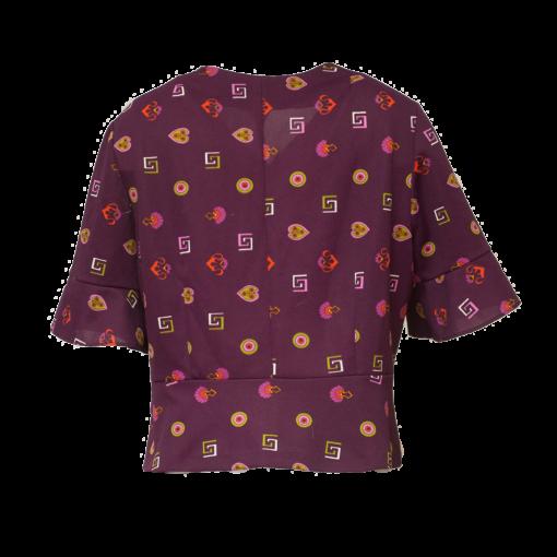 L-kolttu, violetti jakkupaita - 42/44