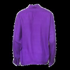 Dipinto, violetti silkkipaita - L