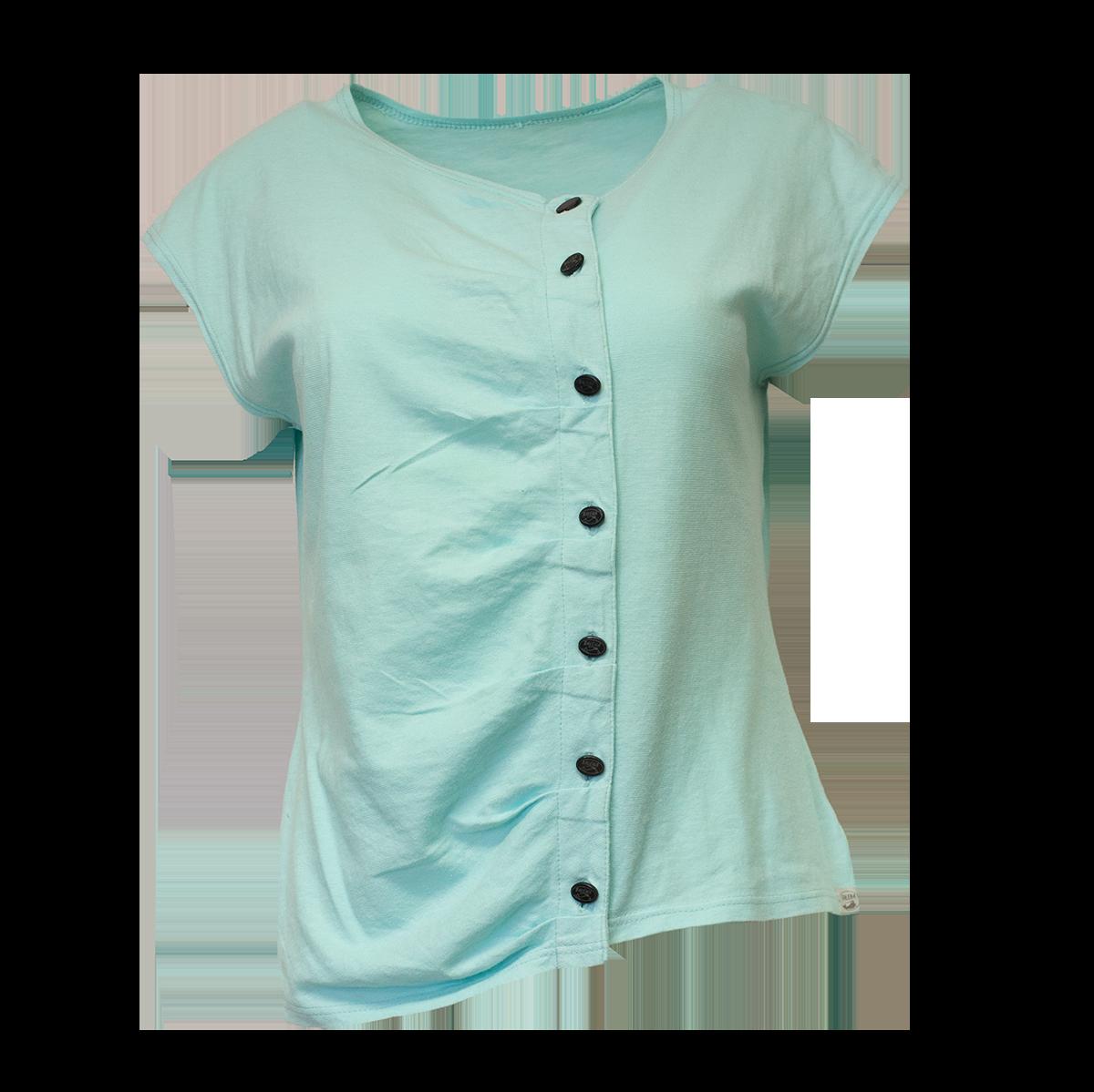 Balema, mintunvihreä T-paita - S