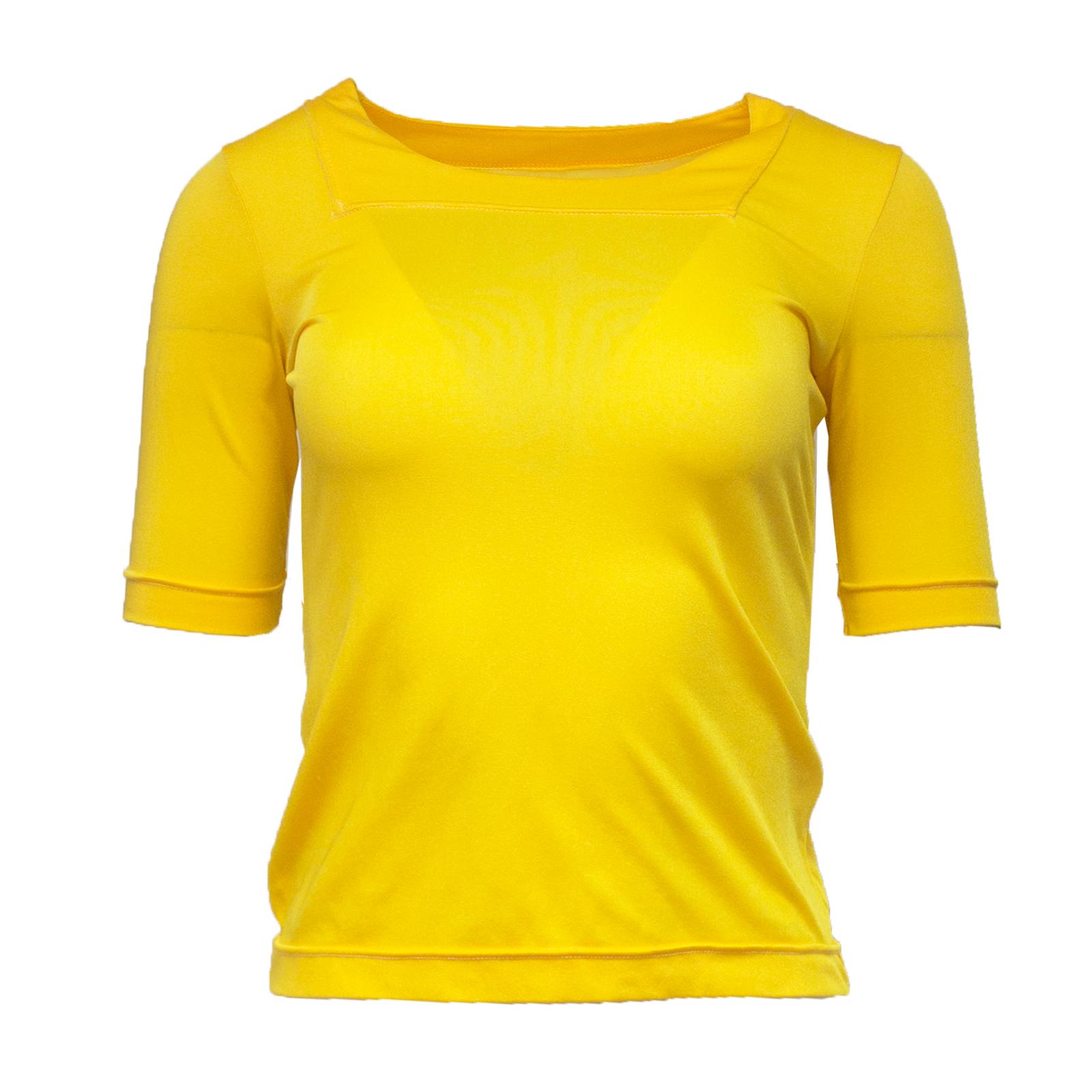 Silkyss, keltainen trikoopaita - 36-40