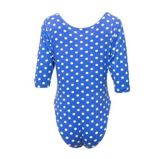 Impuls, sininen polka dot -body - L