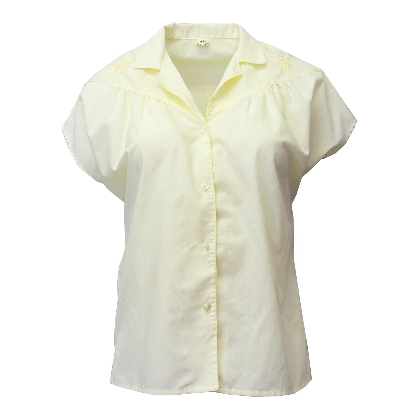 Vaaleankeltainen vintage-paita - 38/40