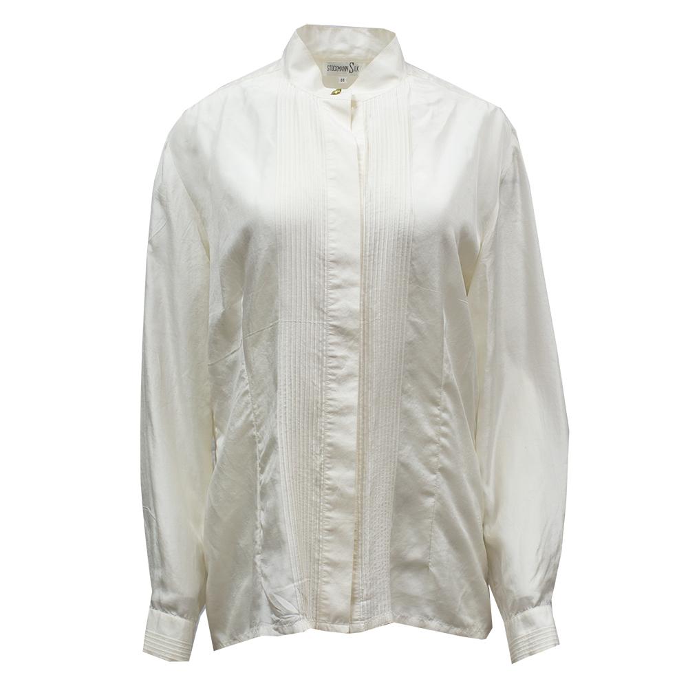 Stockmann Silk, luonnonvalkoinen silkkipaita - 44