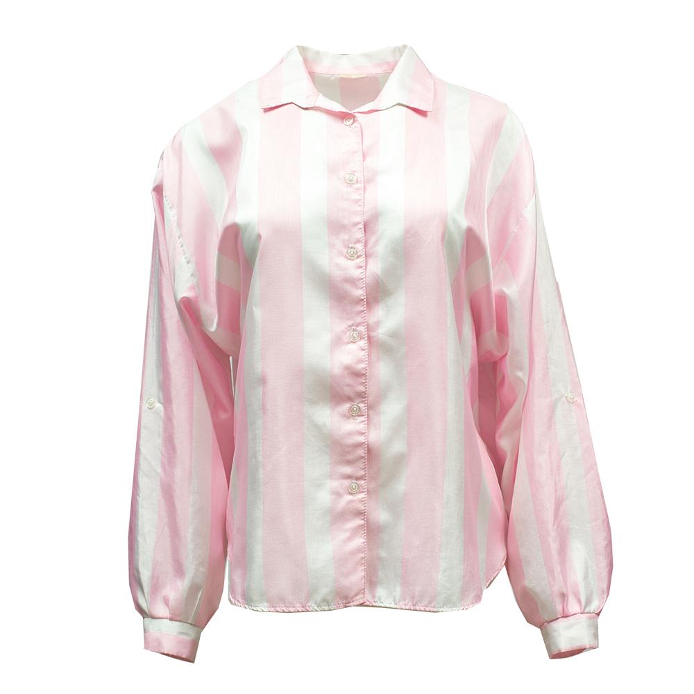 Eurofashion, valko-vaaleanpunainen pusero - M/L