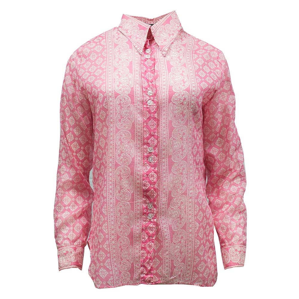 Cali-ber, vaaleanpunainen paita 70-luvulta – L