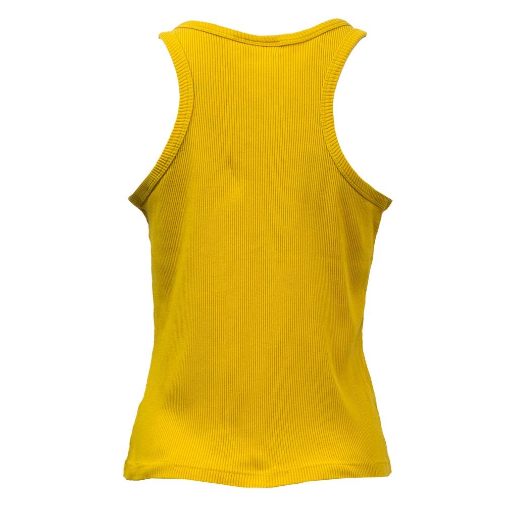 Naturally Yours, keltainen tank top 90-luvulta - L