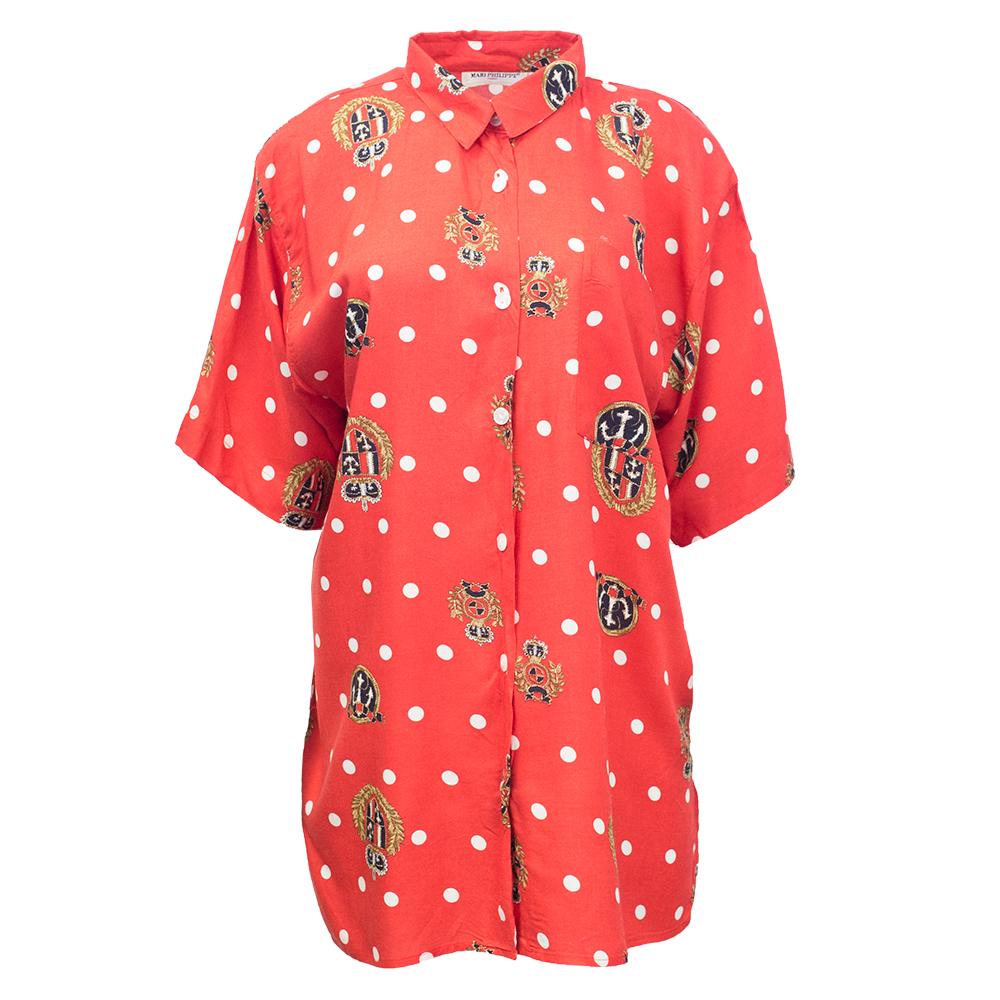 Mari Philippe, punainen pusero 90-luvulta - 40/42
