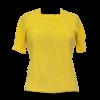 Keltainen vintage-neule - S