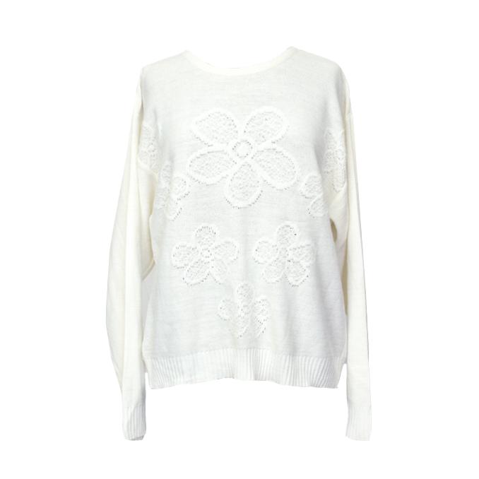 Valkoinen neule - M