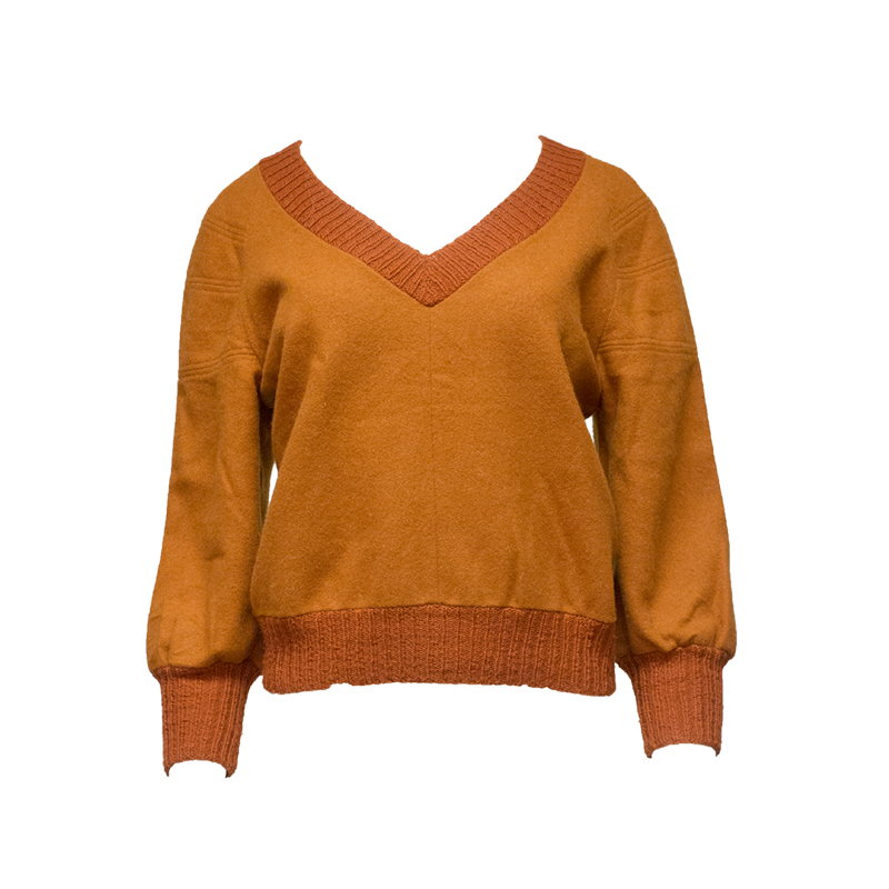 Oranssi, itse tehty paita - M