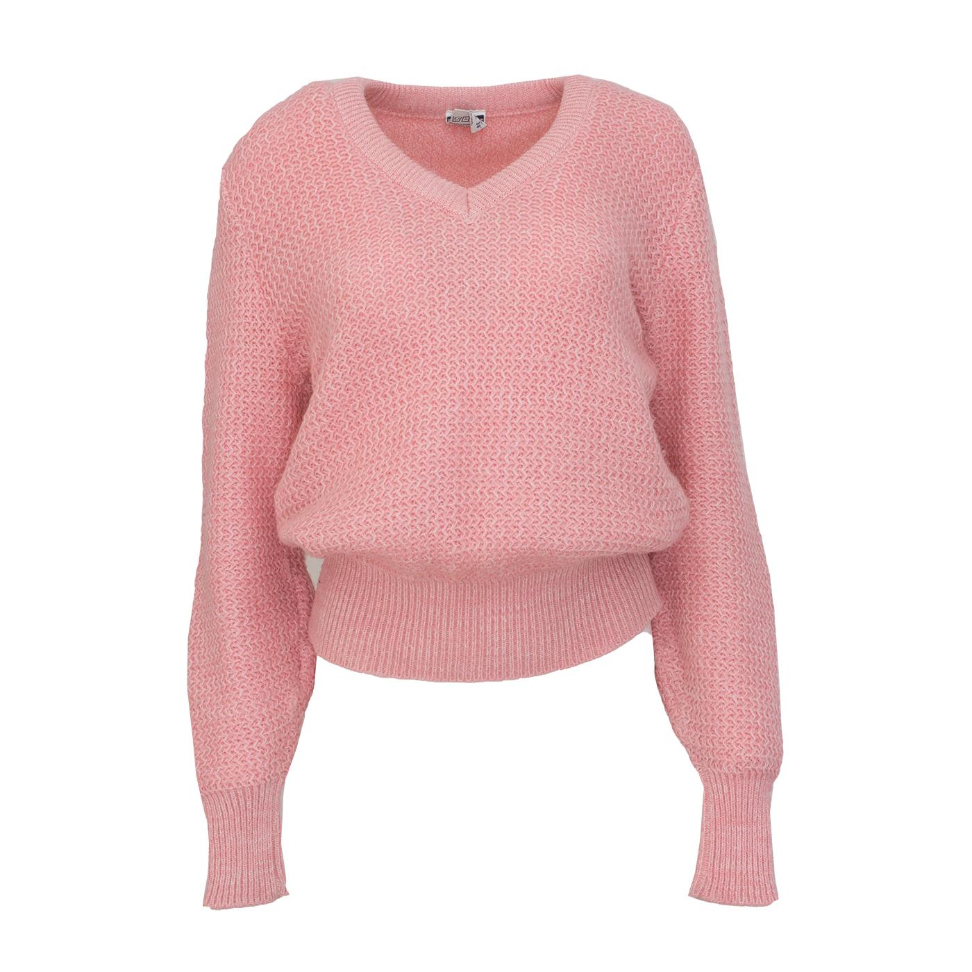 Debenhams, vaaleanpunainen mohair-neule - M