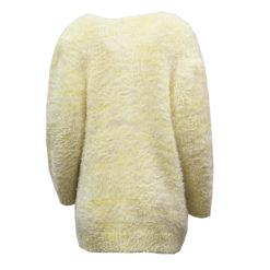 Muhkea keltainen villatakki - M/L