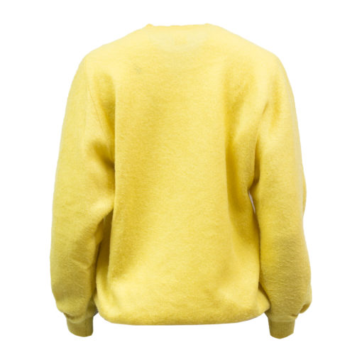 Keltainen akryylineule 80-luvulta - L