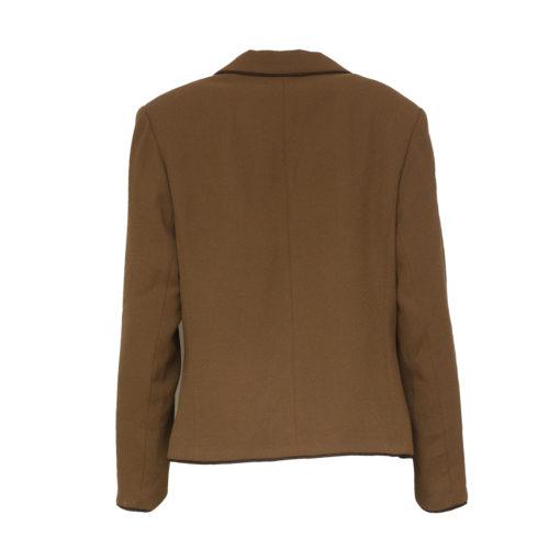 Kaunotar, ruskea jakku - 42